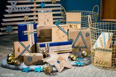 Découvrez plusieurs idées pour emballer vos cadeaux autour d'une matière naturelle et tendance : le kraft.