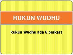 Syarat Syarat wudhu dan Penjelasannya