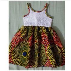 A cute african dress for girls