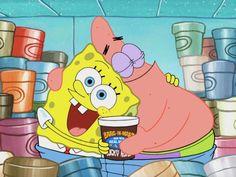 Spongebob and Patrick best friends Patrick Spongebob, Spongebob Cartoon, Spongebob Drawings, Spongebob Memes, Cartoon Pics, Spongebob Squarepants, Friends Wallpaper, Cartoon Wallpaper Iphone, Cute Disney Wallpaper