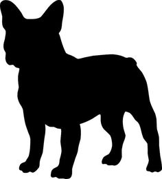 10 Inch FRENCH BULLDOG Vinyl Dog Decal by TheArtsySeashell on Etsy, $6.50