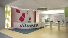Reforma Integral de centro de fitness en Las Palmas Toy Chest, Home Decor, Fitness Studio, Las Palmas, Blue Prints, Decoration Home, Room Decor, Home Interior Design