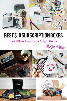 Best $10 Subscription Boxes: Just $10 or Less Every Single Month