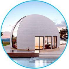 Уникальный купольный дом площадью 155.6 м² под ключ от 4 190 000 руб. Нашу смету не нужно умножать на два. Строим в России и не только. Реально строим!