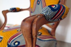 FELIZ » Cabriolet Louis Philippe :: Tissus Wax