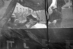 An Introduction to Street Photography for New Photographers | James Maher | Construction Workers, Lower East Side, NYC.