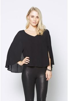 Floaty Cape Top
