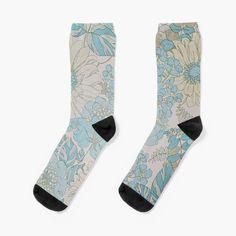 My Socks, Crew Socks, Cotton Tote Bags, Chiffon Tops, Looks Great, My Arts, Art Prints, Printed, Knitting