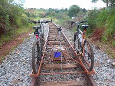 Pregopontocom @ Tudo: Uma BIKE sobre trilhos  - BikeTroller.