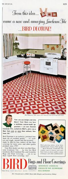 Linoleum Flooring-didn\'t know it could look that cool. | Things I\'d ...