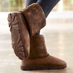 Image result for avon memory foam cable knit boot