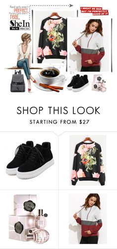 """""""..."""" by red-rose-girl ❤ liked on Polyvore featuring WithChic, Viktor & Rolf, Alice + Olivia, Sheinside and shein"""
