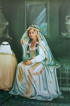Girly Drawings, Art Drawings, Merida, Saudi Arabia Culture, Middle Eastern Art, Arabian Art, Baby Painting, Cute Love Pictures, Painter Artist