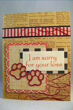 Short on Ideas: Vintage Pet Sympathy - OWH #240