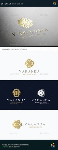 Boutique Hotel Logo Template #design #logotype Download: http://graphicriver.net/item/boutique-hotel-ii-/12511407?ref=ksioks: