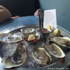 Malpeque & Bristol Bay Oysters @ B Oysters