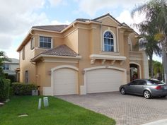 Stucco house colors on pinterest for Florida house paint colors