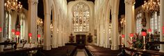 ~ St. Margaret's Church interior ~ between Westminster Abbey and the House of Commons ~ London ~ England ~