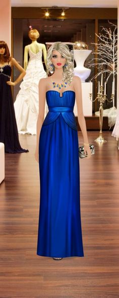 Red Carpet Gown Shopping