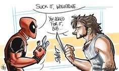 Deadpool and Wolverine - You asked for it by Renny08.deviantart.com on @deviantART