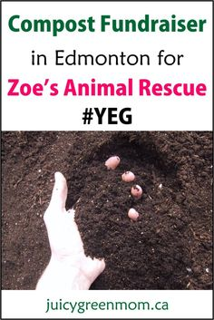 Get some #compost AND help rescued animals! #YEG #animalrescue