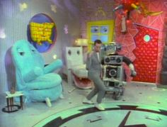 pee wee's playhouse....I couldn't WAIT for Saturday morning cartoons!!!! And then PeeWee got pervy