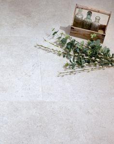 Beautiful Corinthian Grey Tumbled Stone Effect Porcelain Tiles. Grey tumbled porcelain indoor and outdoor tiles. Stone Tile Flooring, Natural Stone Flooring, Stone Tiles, Natural Wood, Tiled Hallway, Large Format Tile, Outdoor Tiles, Corinthian, Grey Stone