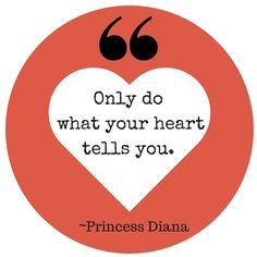 Princess Diana's words hold true when it comes to love and relationships. Often we get in our own way. Sometimes we think about logic and forget that it's all about the heart. Whatever you're doing now, follow your heart if you want to live a life filled with love and joy. Happy Friday. . . . . #tgif #quote #qotd #love #princessdiana #relationships #happiness #heart #lovequotes #followyourheart #followyourdreams #dreams #joy #dating…