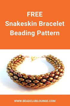 Learn how to make this free tubular peyote stitch rope bracelet using SuperDuo beads You could also make a lovely beaded necklace using this pattern The simple stepbystep. Beaded Necklace Patterns, Beaded Bracelets Tutorial, Necklace Tutorial, Beaded Necklaces, Necklace Ideas, Beaded Bead, Super Duo, Beading Patterns Free, Bead Patterns