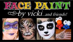 Face Paint by Vicki-Frederick, MD