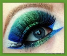MakeupGeek.com:  Mermaid Lagoon by Cecilie Alstad Olsen