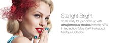 NEW limited-edition† Mary Kay® Hollywood Mystique Collection. LOVE the teal poilsh and gel liner!