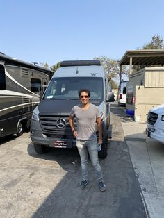 Ivan, we're so excited for all the places you'll go, safe travels and best wishes! On behalf of Conejo RV and The Conejo Rv Team, enjoy your 2021 WINNEBAGO REVEL! Rvs For Sale, Motorhome, Van, Places, Rv, Motor Homes, Camper, Vans, Mobile Home