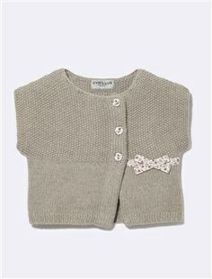 LIBERTY® CROSS-OVER CARDIGAN, Babies