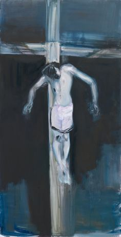 'Ecce Homo' - 2011 - by Marlene Dumas (South African, b. 1953) - @~ Mlle