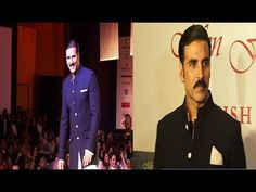 Akshay Kumar walks the ramp for MEN FOR MIJWAN fashion show.
