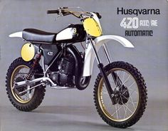 1982- Husqvarna 420 Brochure
