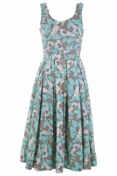 that bird label Lori Fit & Flare Dress Berry Delight - Womens Knee Length Dresses - Birdsnest Fashion Clothing - I'd have to shorten it
