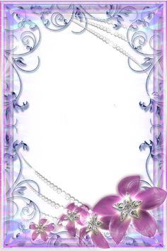 Photo Frame - Glamorous Flowers