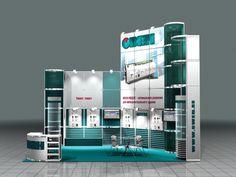 Exhibition Stall, Exhibition Booth Design, Exhibition Display, Corner Booth, Design System, Modular Design, Stand Design, Trade Show, Columns