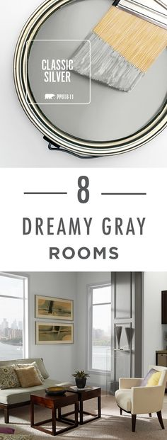 These 8 dreamy gray rooms sure know how to capture the simplistic and minimalistic aesthetic you love! The secret of achieving your very own modern makeover is by pairing your favorite cool-toned neutral hue with clean furniture lines and unique decor.