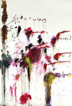 サイ・トゥオンブリー   「孤高の詩人」とも呼ばれた