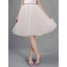 Pleated High-waist Mesh Midi Skirt (1.065 ARS) ❤ liked on Polyvore featuring skirts, calf length skirts, mesh skirt, high-waisted skirts, mesh midi skirt and pleated midi skirt