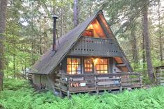 Snowline Cabin 86 - A very rustic pet friendly cabin with wood burning stove.