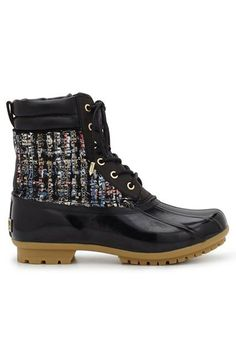 Duck boots in technicolor? We are so on board.Sam Edelman Caldwell, $140, available at Sam Edelman. #refinery29 http://www.refinery29.com/popular-snow-boots#slide-14