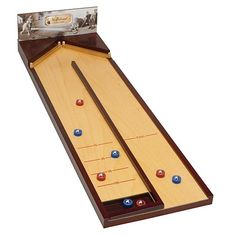 Table Top Shuffleboard $69.99 Possible Example Of A Game For Warren To Make.