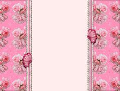 Pink Butterfly Backgrounds | Layout e Banner Pink Butterfly - LADY MEL LAYOUTS