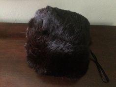 Black Mink Fur Hand Muff by LottieDottieVintage on Etsy