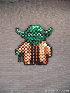 Star Wars Yoda, R2D2,C3PO Darth Maul, Darth Vadar, Stormtrooper Hama Perler Bead Designs. Characters Wall Art Coaster Unusual Gifts