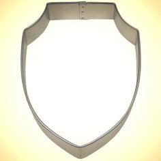 Shield Plaque Cookie Cutter